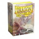 Dragon Shield Matte Non-Glare Clear Sleeves (100) [STANDARD]