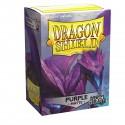 Dragon Shield Matte Non-Glare Purple Sleeves (100) [STANDARD]
