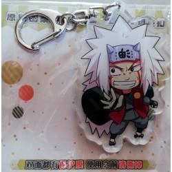 Naruto Acrylic Keyring - Jiraiya
