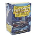 Dragon Shield Matte Blue Deck Protector Sleeves (100) [STANDARD]