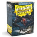 Dragon Shield Matte Black Deck Protector Sleeves (100) [STANDARD]