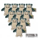 Pocket Monster Snorlax Plushie Keychain (Extra, Extra Small)