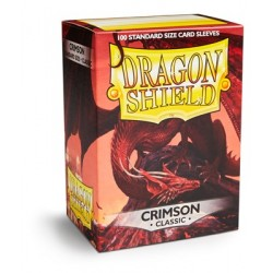 Dragon Shield Crimson Deck Protector Sleeves (100) [STANDARD]