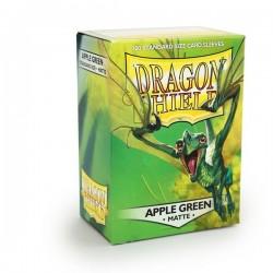 Dragon Shield Matte Apple Green Deck Protector Sleeves (100) [STANDARD]