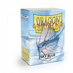 Dragon Shield Matte Sky Blue Deck Protector Sleeves (100) [STANDARD]