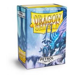 Dragon Shield Matte Petrol Deck Protector Sleeves (100) [STANDARD]
