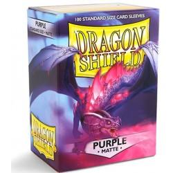 Dragon Shield Matte Purple Deck Protector Sleeves (100) [STANDARD]