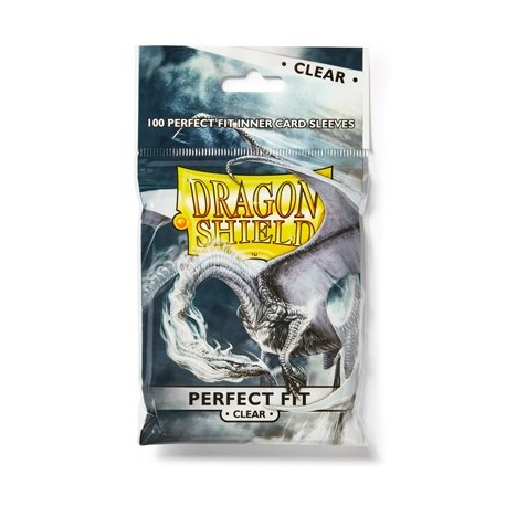Dragon Shield Clear Perfect Fit Sleeves [STANDARD]