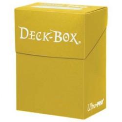 Ultra Pro Yellow Deck Box