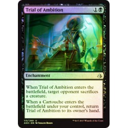 Trial of Ambition (Foil)