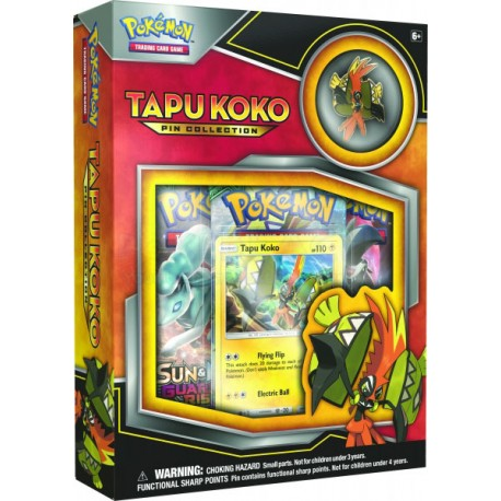 Tapu Koko Pin Collection