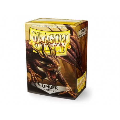 Dragon Shield Matte Umber Deck Protector Sleeves (100) [STANDARD]
