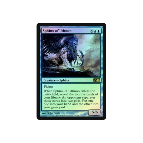 Sphinx of Uthuun (Foil)