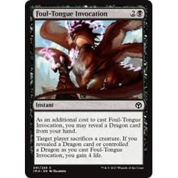 Foul-Tongue Invocation