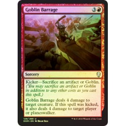 Goblin Barrage (Foil)