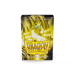 Dragon Shield Matte Yellow Deck Protector Sleeves (60) [SMALL]