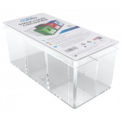 Ultimate Guard Clear Stack'n'Safe Card Box (480)