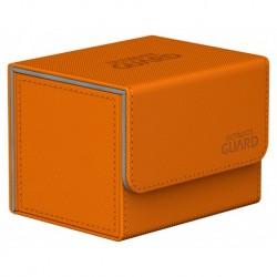 Ultimate Guard Orange Sidewinder Deck Case (XenoSkin) (100+)