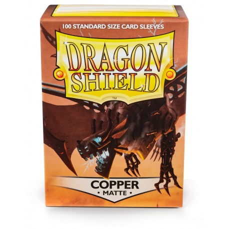 Dragon Shield Matte Copper Sleeves (100) [STANDARD]