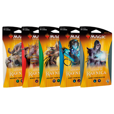 Guilds of Ravnica Theme Booster Combo