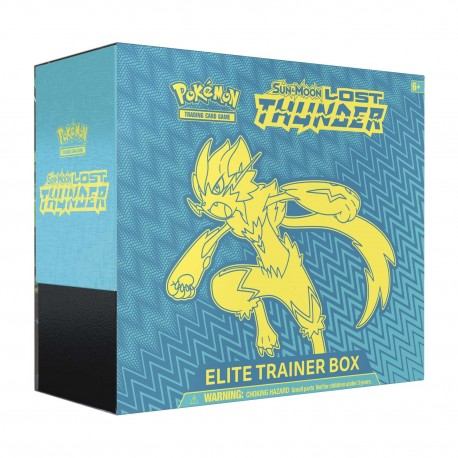 Sun & Moon: Lost Thunder Elite Trainer Box