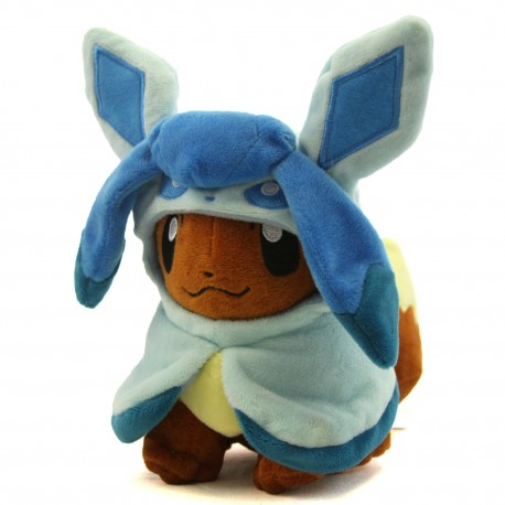 Pokédoll Eevee Plushie [Glaceon Cosplay] (20cm)