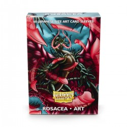 Dragon Shield Classic 'Rosacea' Art Deck Protector Sleeves (60) [SMALL]