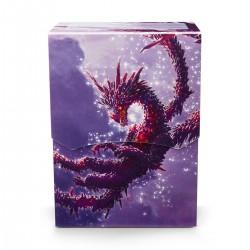 Dragon Shield Clear Purple 'Racan' Deck Shell (80+)
