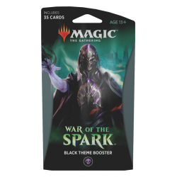 War of the Spark Black Theme Booster [PREORDER]
