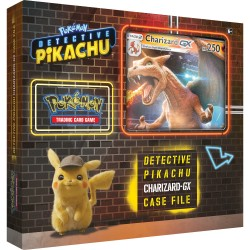 Detective Pikachu Charizard-GX Case File