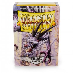Dragon Shield Matte Lilac Sleeves (100) [STANDARD]