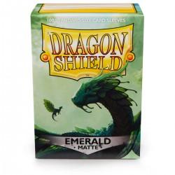 Dragon Shield Matte Emerald Sleeves (100) [STANDARD]