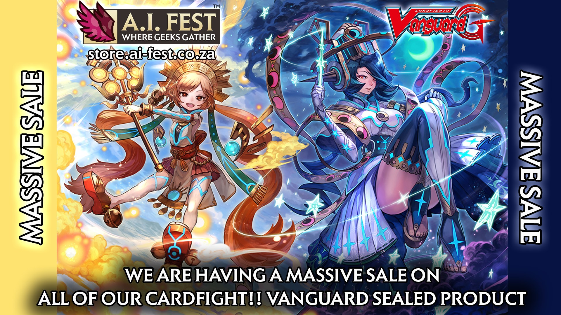 Massive Cardfight!! Vanguard Sale