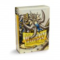 Dragon Shield Matte Ivory Deck Protector Sleeves (60) [SMALL]