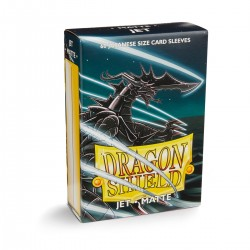 Dragon Shield Matte Jet Deck Protector Sleeves (60) [SMALL]