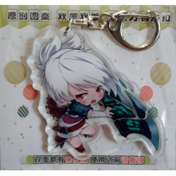 League of Legends Acrylic Keyring - Riven