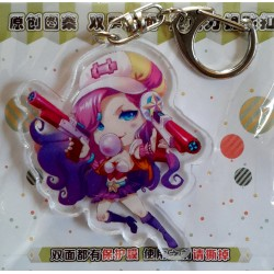 League of Legends Acrylic Keyring - Miss Fortune