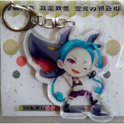League of Legends Acrylic Keyring - Jinx