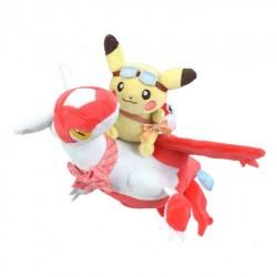 Pikachu Riding Latias Plushie (25cm)
