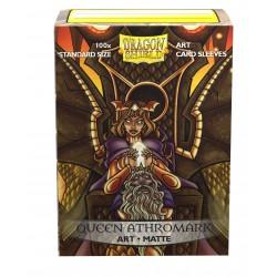 Dragon Shield Matte 'Queen Athromark' Art Sleeves (100) [STANDARD]