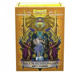 Dragon Shield Classic 'Coat-of-Arms: Queen Athromark' Art Sleeves (100) [STANDARD]