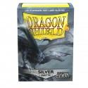 Dragon Shield Matte Non-Glare Silver Sleeves (100) [STANDARD]