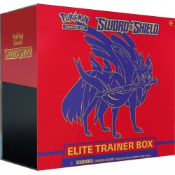 Sword & Shield Elite Trainer Box (Zacian)