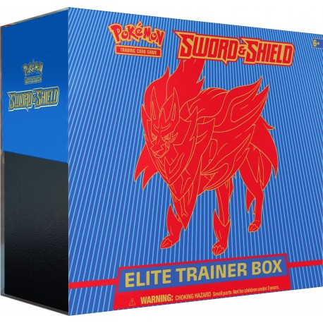 Sword & Shield Elite Trainer Box (Zamazenta)