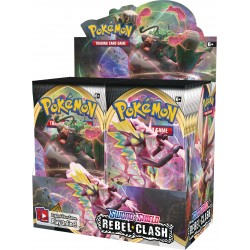 Sword & Shield: Rebel Clash Booster Box