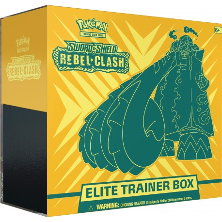 Sword & Shield: Rebel Clash Elite Trainer Box