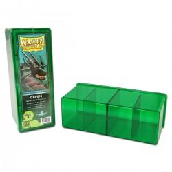 Dragon Shield Four Compartment Box - Green