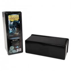 Dragon Shield Four Compartment Box - Black