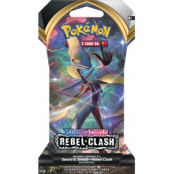 Sword & Shield: Rebel Clash Sleeved Booster Pack