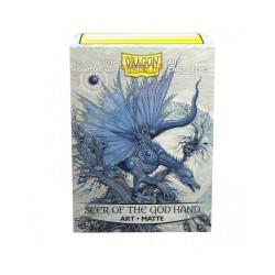 Dragon Shield Matte 'Seer of the God Hand' Art Sleeves (100) [STANDARD]